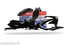 Kit plastiques Coques Polisport HONDA 250 450 CRF 11-13  Couleur NOIR