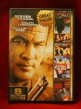 DVD - 8-Film Action Pack Vol. 3 (2012) Seagal / Lundgren / Norris / Dudikoff