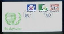 Singapore Stamps First Day Cover FDC -1985  International Youth Year