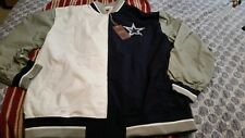 Authentic Dallas Cowboys 5x Super Bowl NFL Mitchell & Ness Warm up Jacket XXXL
