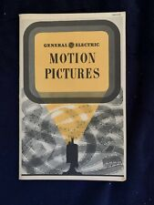 1945 General Electric Motion Pictures Brochure VINTAGE RARE!!!