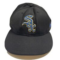 Chicago White Sox New Era Fitted Hat Size 7 3/4 Rare 59FIFTY Shimmer Blue Logo