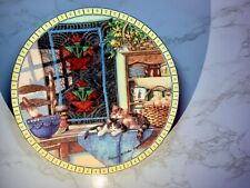 Collector Plate - Art - Lazy Morning by Hannah Hollister Ingmire