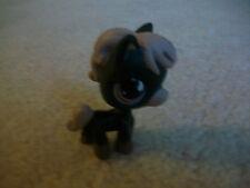Littlest Pet Shop ❀ LPS ❀ SPORTIEST BLACK HORSE PURPLE RAIN DROP EYES