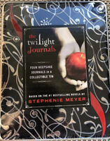 NEW The TWILIGHT SAGA Diary Journals for Your Own Personal Memories (Set of 4)