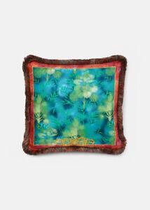 Versace Jungle Print Silk Cushions