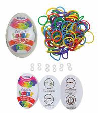 Creat-A-Loomz Egg Bracelet Kit ~ 4 Eggs/400pc ~ Makes 24 Colorful Fun Bracelets!