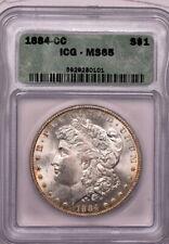 1884-cc $1 Morgan Dollar ICG MS 65