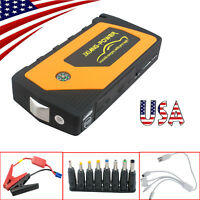 USA 12V 21000mAh Jump Starter Emergency Booster Charger Battery Power Bank