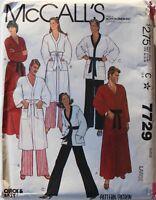U PICK! Misses & Mens Vtg Caftan, Nightgown, Slips, Robe Tights Sew Pattern UC
