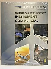 NEW JEPPESEN GFD INSTRUMENT COMMERCIAL TEXTBOOK p/n 10001784 4/16 Rev.