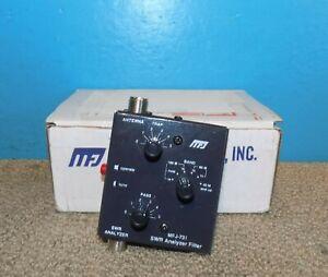 MFJ-731 SWR Analyzer Filter Original Box Free Shipping