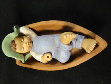 Goebel Nina & Marco - Marco In Boat - Figurine, Excellent Condition