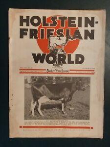 HOLSTEIN WORLD 1927 MINNESOTA HOLSTEIN COMPANY + RETREAT HERD + HONOR LIST ++