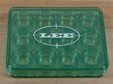 Lee Precision 12 Shell Holder Box Green! New!