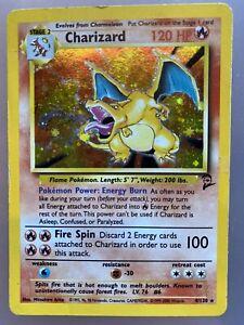charizard pokemon card base set 2 4/130