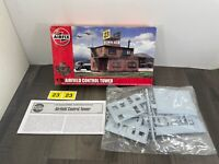 Authentic Airfix Airfield Control Tower 1/76 Scale Model Kit A03380