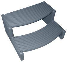 Confer Plastics HS2DG Handi-Step Multi Purpose Spa & Hot Tub Steps Dark Gray New