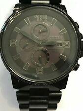 CITIZEN NightHawk EcoDrive Chronograph Men's Watch Item No. CA0295-58E 4111