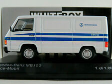 "WhiteBox WB266 Mercedes-Benz MB 100 (1988) ""Mercedes-Benz Service"" 1:43 NEU/OVP"