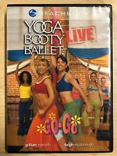 Yoga Booty Ballet Live Go-Go (DVD, BeachBody, exercise) - FIT20