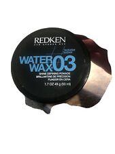 Redken 03 Water Wax Shine Defining Pomade 1.7 oz