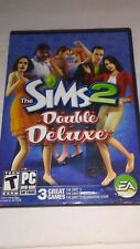 Sims 2: Double Deluxe (PC: Windows, 2008) CD & DVD  CIB