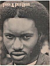 1971 Track and Field News Hot Rod Milburn Southern University High Hurdles Champ