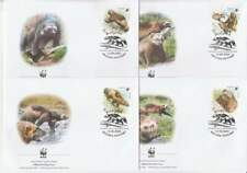 WWF 4 x FDC Russia / Rusland 2004 - Beer / Bear (261)
