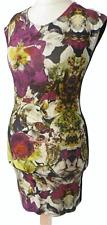 Ted Baker Floral Summer Dress  Size 1 / UK 8  Stretchy / b29