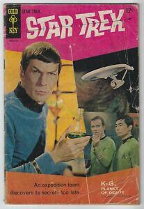Star Trek #1 (1967, Gold Key) Premiere Issue, Dick Wood, Nevio Zaccara, G/G+