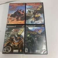 4 Game Lot ATV Offroad Fury 1, 2, 3 4 off road PlayStation 2 PS2 Free Shipping