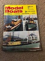 AUG 1973 MODEL BOATS boat model magazine