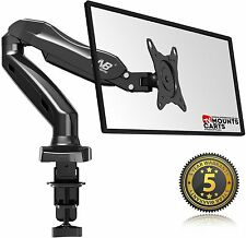 North Bayou Full Motion Gas-Spring Arm Desk Computer Monitor Mount for 17'- 27''
