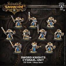 Privateer Press Warmachine Cygnar Sword Knights Model Kit Toy PIP 31106