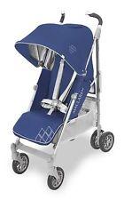 Maclaren Techno XT Stroller Medieval Blue and Silver New Open Box -No Rain Cover
