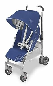 Maclaren Techno XT Stroller Medieval Blue and Silver Brand New