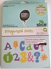 Making Memories Slice MS+ Playground Fonts Design Card Cartridge #33075