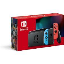 Nintendo Switch V2 Console Joy-Con Neon/Red e Neon/Blue