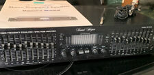 Vintage Adc Sound Shaper Equalizer Ss 315X With Microphone And Manual