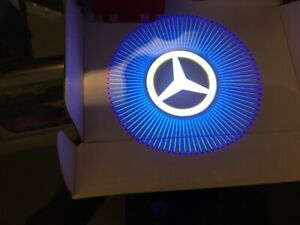 2 Logo LED Door Courtesy Light Ghost Shadow Laser Projector for Mercedes-Benz