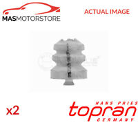 2x 721 805 TOPRAN REAR RUBBER BUFFER BUMP STOP PAIR G NEW OE REPLACEMENT