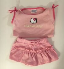 build a bear clothing Pink Hello Kitty Set 3 and up