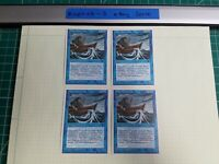 4x Water Elemental   4th Edition   MTG Magic The Gathering Cards