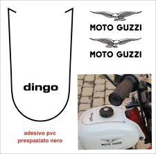 Adesivi Moto Guzzi Dingo 50 3 marce decals emblemi pvc serbatoio restauro moto