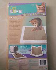 Cat Scratch Pad Litter Catching Mat Catnip Included