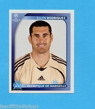PANINI-CHAMPIONS 2008/2009-Fig.371- RODRIGUEZ -OLYMPIQUE MARSIGLIA-NEW BLACK
