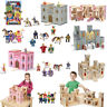School Learning Toys Folding Wooden Princess Medieval Castle -  Melissa & Doug