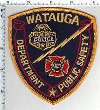 Watauga Public Safety (Texas) 1st Issue Shoulder Patch