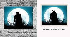 Modern Canvas painting without frame - Krishna Radha Moon